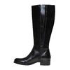 Stivali di pelle bata, nero, 594-6223 - 19