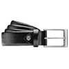 Cintura elegante in vera pelle bata, nero, 954-6819 - 13