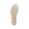 Sandali in pelle bata, beige, 564-4351 - 19