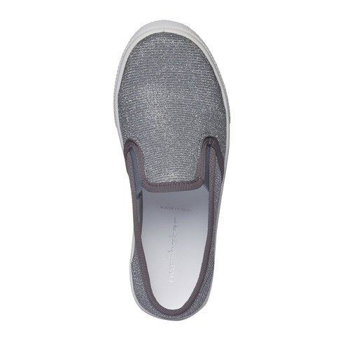 Scarpe Plim Soll argentate north-star-junior, bianco, 329-1172 - 19