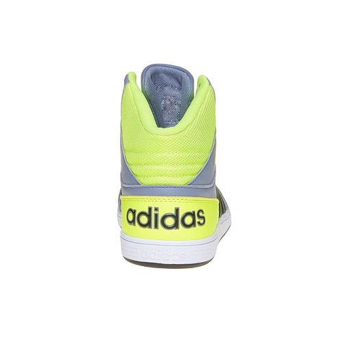 Sneakers da bambina alla caviglia adidas, grigio, 401-2231 - 17