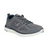 Sneakers grigie sportive da uomo skechers, grigio, 809-2349 - 13