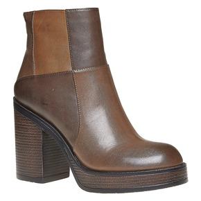Stivaletti da donna alla moda bata, marrone, 791-4301 - 13