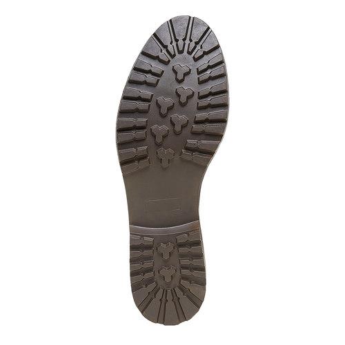 Scarpe basse da donna in stile Oxford bata, marrone, 524-3135 - 26