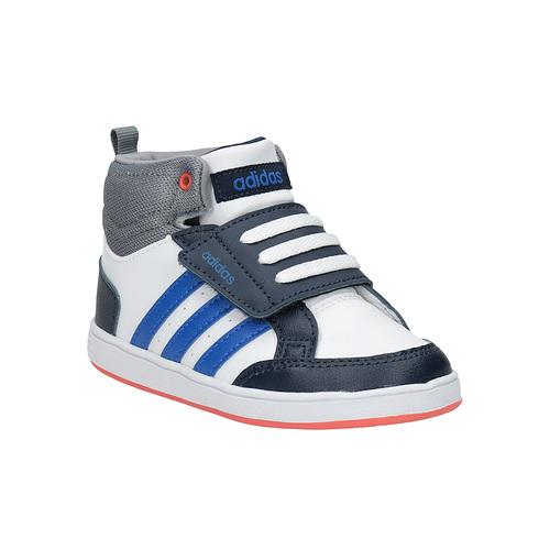 Sneakers da bambino alla caviglia adidas, bianco, 101-1231 - 13