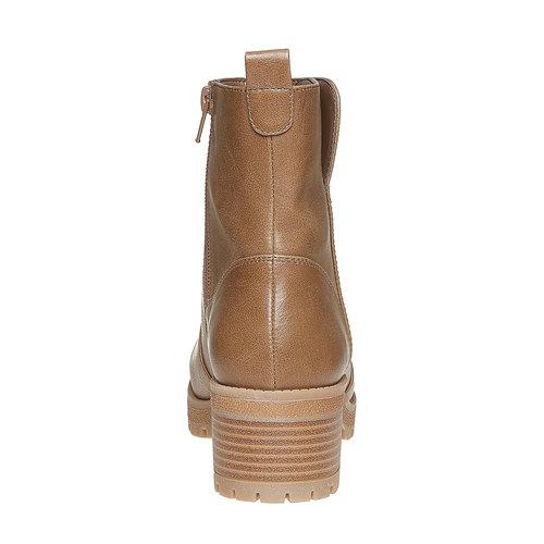 Scarpe alla caviglia da donna bata, marrone, 691-2245 - 17