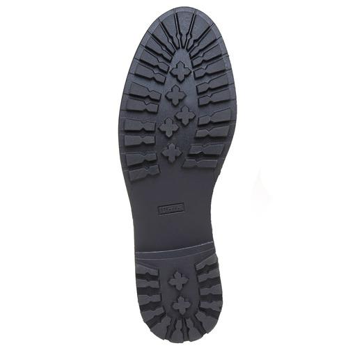 Scarpe da donna sopra la caviglia bata, grigio, 591-2509 - 26