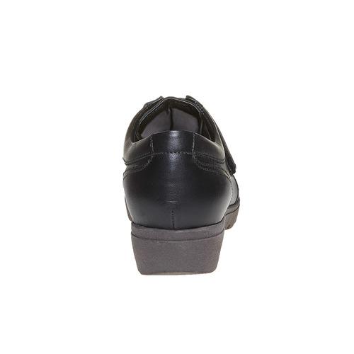 Scarpe da donna in pelle con fibbie sundrops, nero, 524-6357 - 17