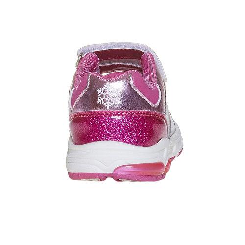 Sneakers da ragazza con glitter, rosso, 221-5172 - 17