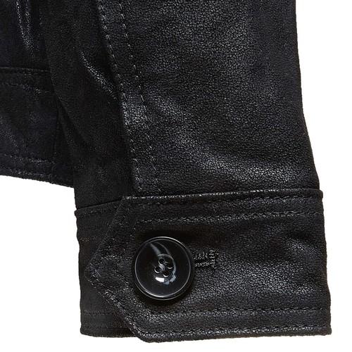 Giacca da uomo in pelle bata, nero, 973-6110 - 16