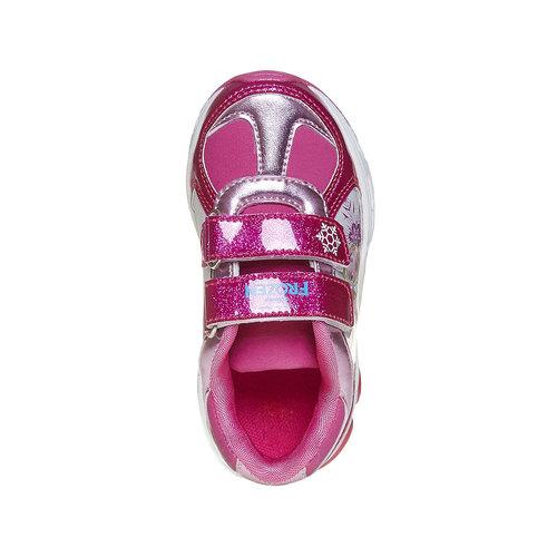Sneakers da ragazza con glitter, rosso, 221-5172 - 19