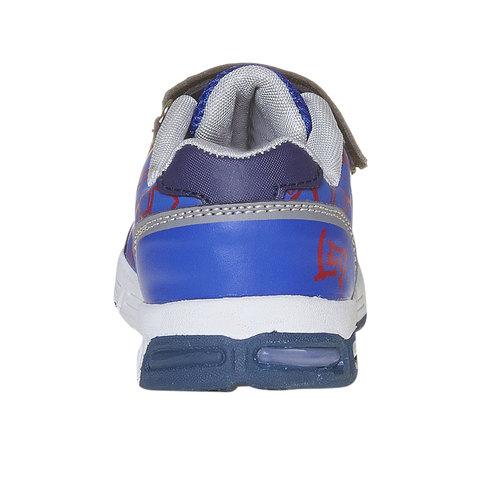 Sneakers da bambino con suola massiccia, blu, 211-9165 - 17
