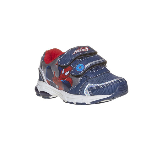 Sneakers da bambino con chiusure a velcro spiderman, viola, 211-9166 - 13