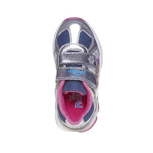 Sneakers da ragazza con chiusure a velcro, grigio, 221-2172 - 19