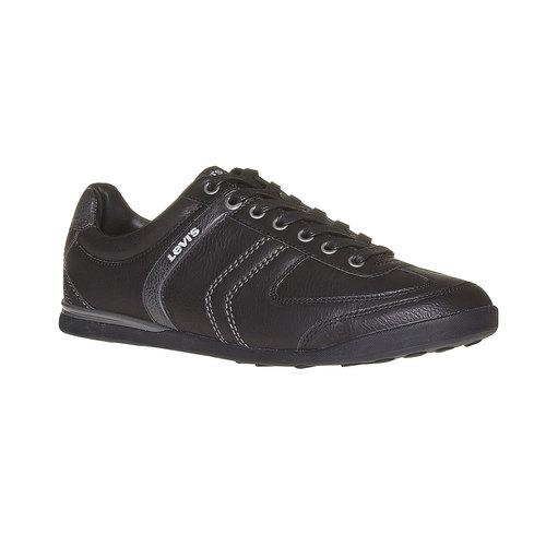 Sneakers eleganti da uomo levis, nero, 841-6210 - 13