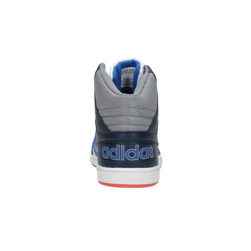 Sneakers da bambino alla caviglia adidas, bianco, 401-1231 - 17