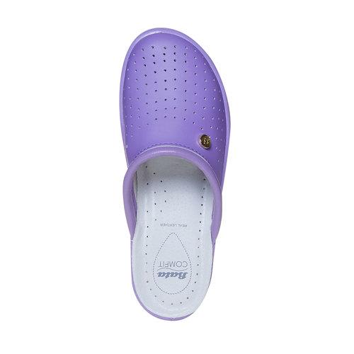 Pantofole da donna, viola, 574-9347 - 19