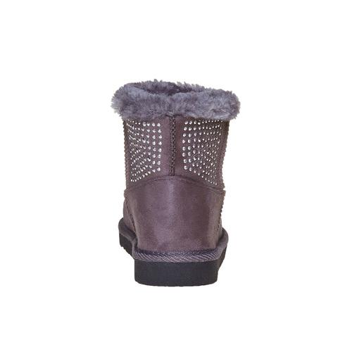 Stivali Valenki da bambina con pelliccia mini-b, grigio, 399-2302 - 17