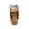 Stivali invernali da donna bata, marrone, 593-3992 - 17