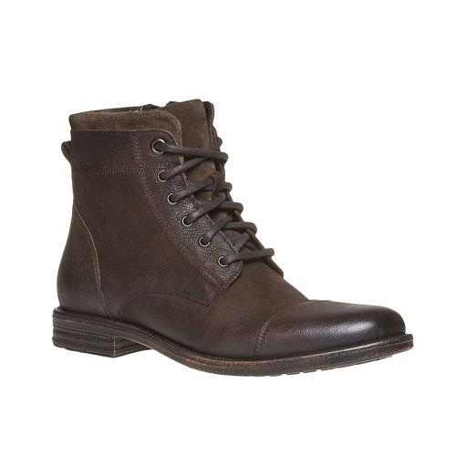 Scarpe invernali da uomo bata, marrone, 894-4284 - 13