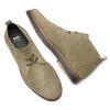 Scarpe di pelle in stile Desert Boots bata, grigio, 823-2535 - 19