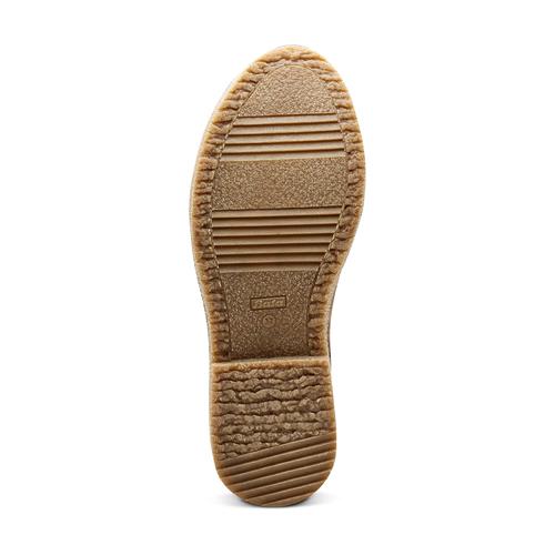 Stivali donna con ecopelliccia bata, beige, 599-2994 - 17