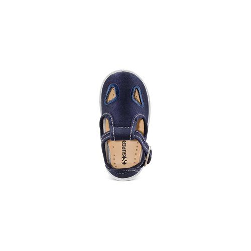 Sandali colorati per i più piccoli superga, blu, 169-9343 - 17