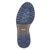 Scarpe da uomo alla caviglia bata, blu, 893-9357 - 26