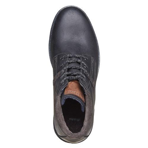 Scarpe da uomo alla caviglia bata, nero, 894-6281 - 19