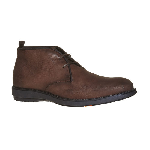 Desert Boots da uomo in pelle flexible, marrone, 824-4530 - 13