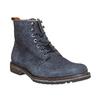Scarpe da uomo alla caviglia bata, blu, 893-9357 - 13