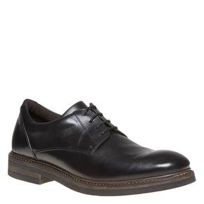 Scarpe basse Derby di pelle da uomo bata, nero, 824-6219 - 13