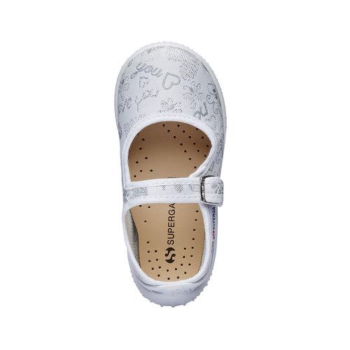 Sandali colorati per i più piccoli superga, bianco, 169-1315 - 19