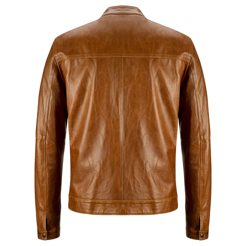 Giacca in pelle da uomo bata, marrone, 974-3142 - 26