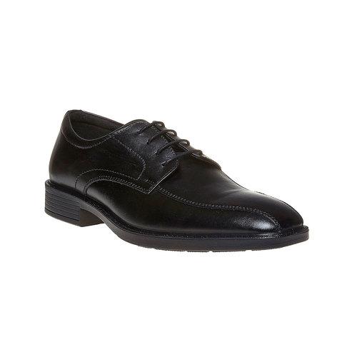 Scarpe basse di pelle in stile Derby bata-comfit, nero, 824-6619 - 13