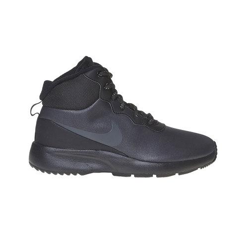 Sneakers da donna sopra la caviglia nike, nero, 509-6558 - 15