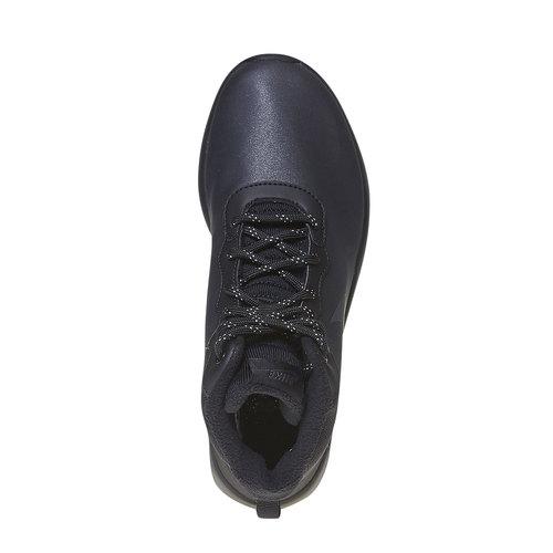 Sneakers da donna sopra la caviglia nike, nero, 509-6558 - 19