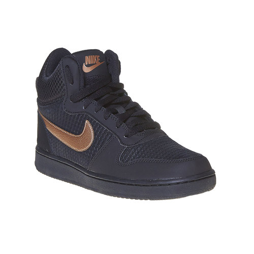 Sneakers da donna alla caviglia nike, nero, 509-6332 - 13