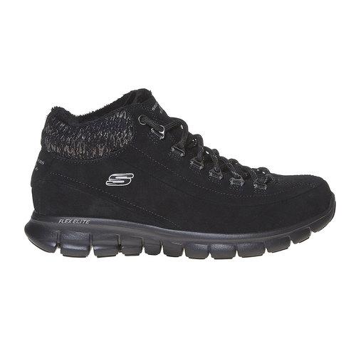 Scarpe da donna alla caviglia skechers, nero, 503-6357 - 15