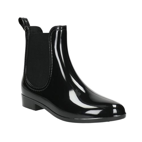 Scarpe da donna da pioggia bata, nero, 592-6779 - 13