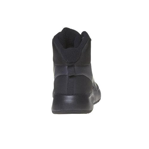Sneakers da donna sopra la caviglia nike, nero, 509-6558 - 17