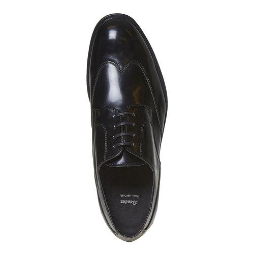 Scarpe basse da uomo in stile Derby bata, nero, 821-6430 - 19