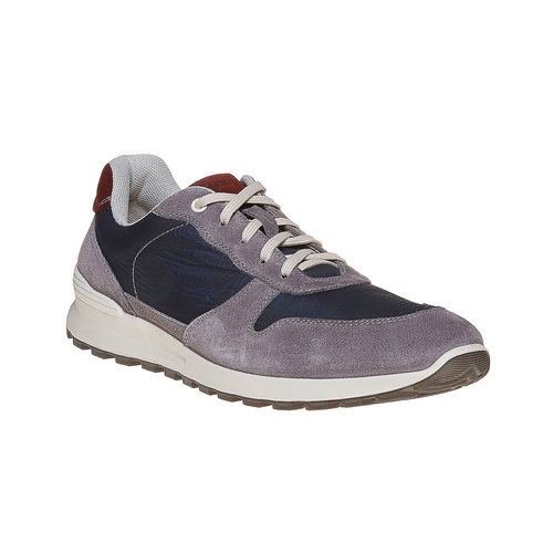 Sneakers eleganti da uomo bata, viola, 849-9692 - 13