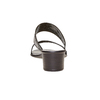 Sandal  bata, nero, 671-6111 - 17