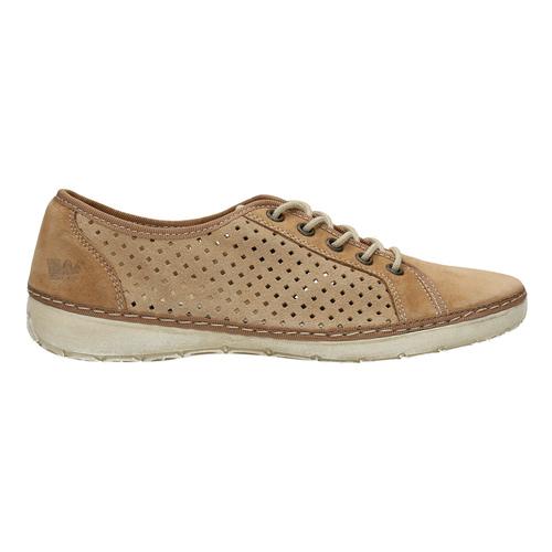 Sneakers di pelle weinbrenner, marrone, 546-4238 - 15
