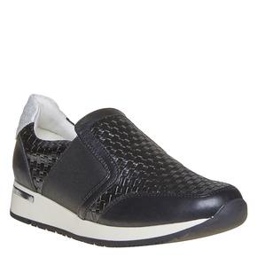 Sneakers da donna con struttura north-star, nero, 531-6121 - 13