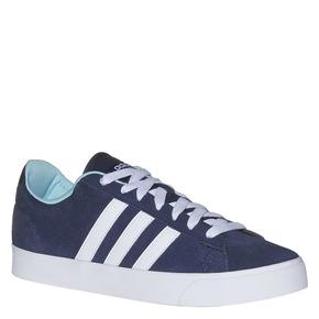 Sneakers da donna in pelle adidas, blu, 503-9195 - 13