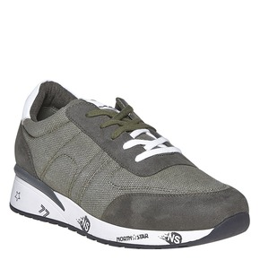 Sneakers da uomo north-star, verde, 849-7501 - 13