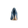Décolleté in pelle bata, blu, 724-9607 - 15