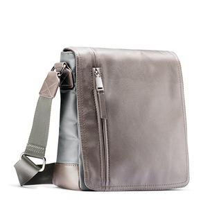 Tracolla da uomo con zip bata, grigio, 961-2508 - 13